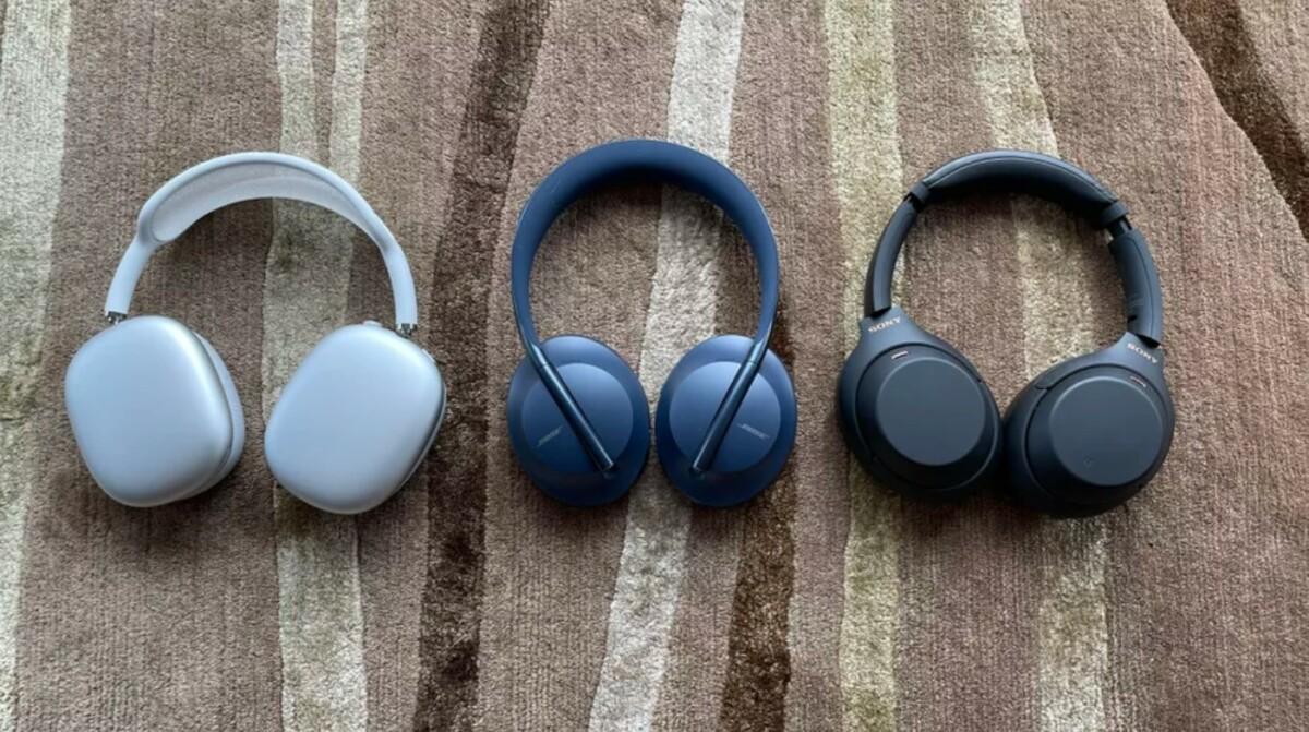 L'AirPods Max accompagné du Bose Headphones700 et du SonyWH-1000XM4