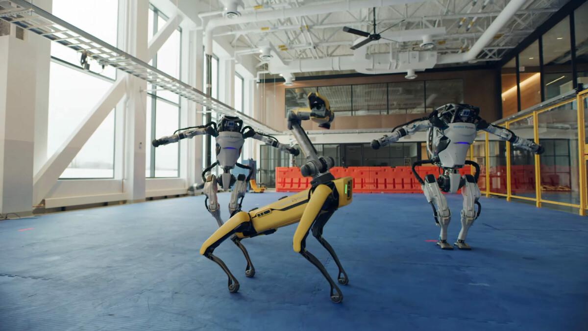 Robots danseurs Boston Dynamics