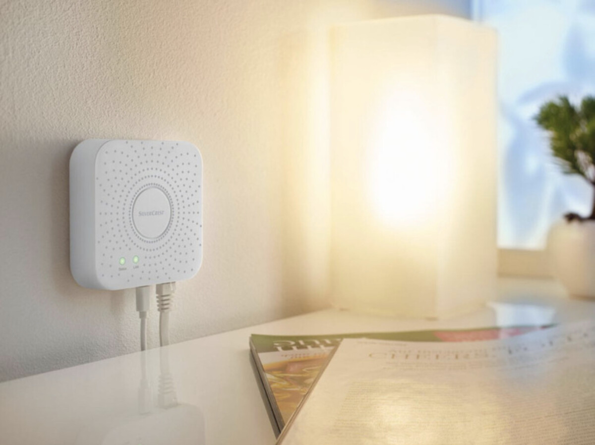 Le hub domotique de la solution Lidl Smart Home