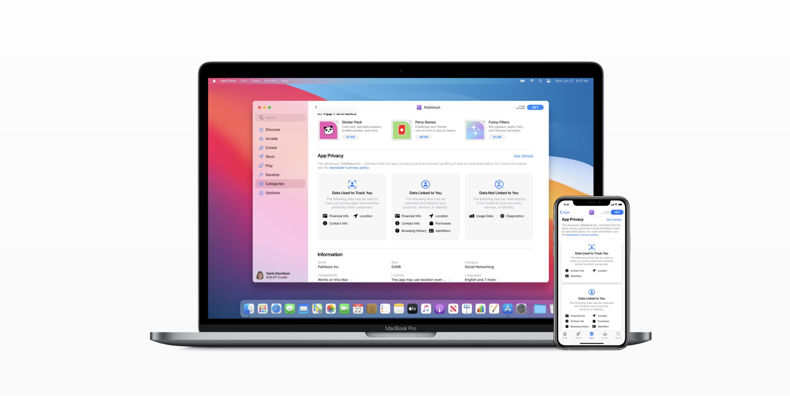 Apple demande à ses développeurs de mieux informer sur leurs appli