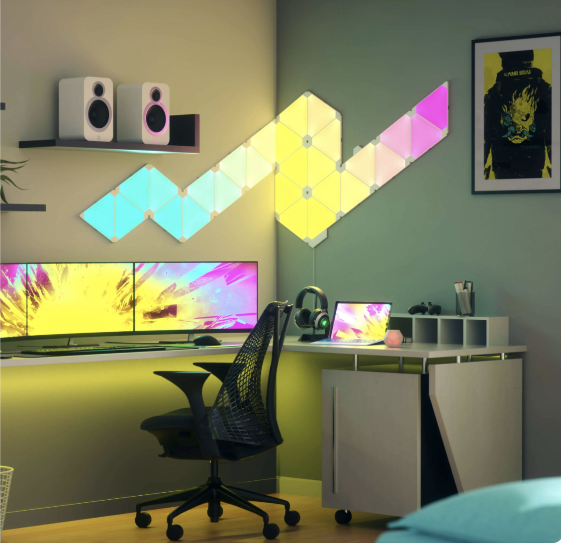 Nanoleaf wall led panels