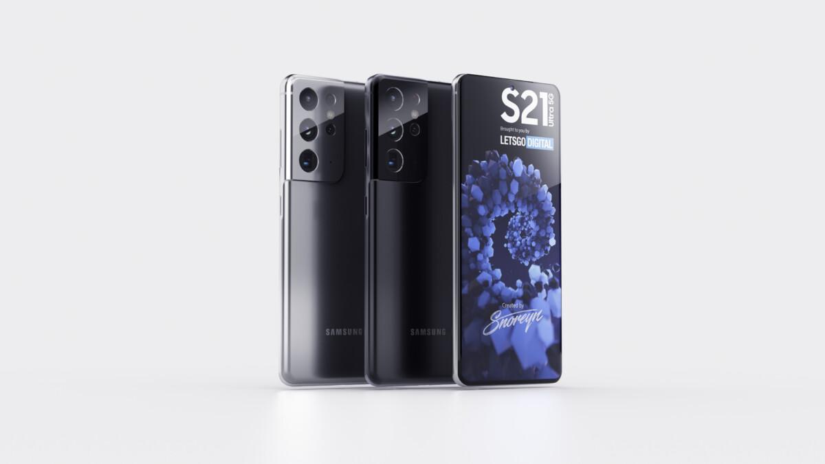 Coloris Galaxy S21 Ultra Samsung