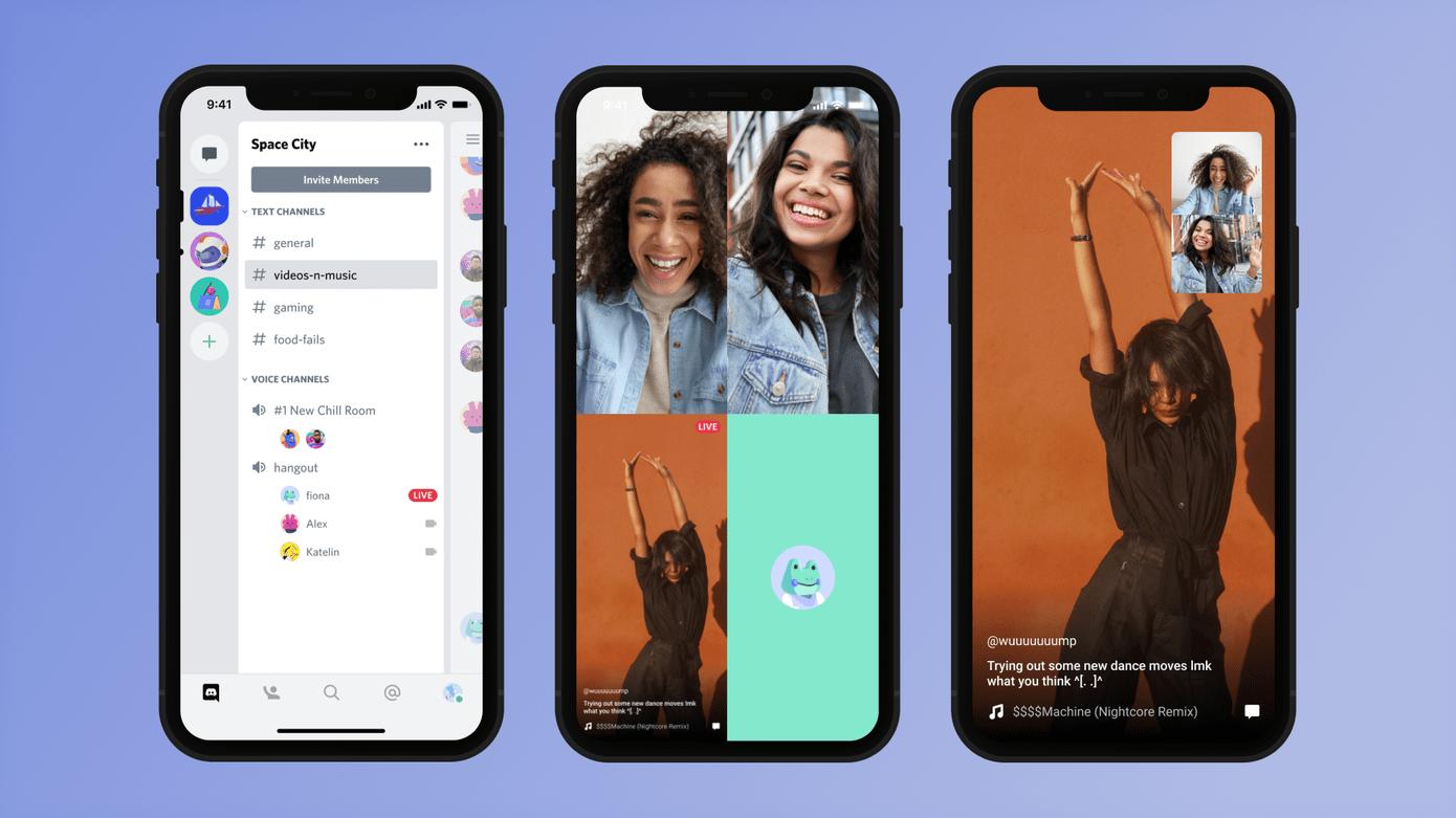 Le partage d'écran sur smartphone est maintenant disponible avec les applications iOS et Android de Discord