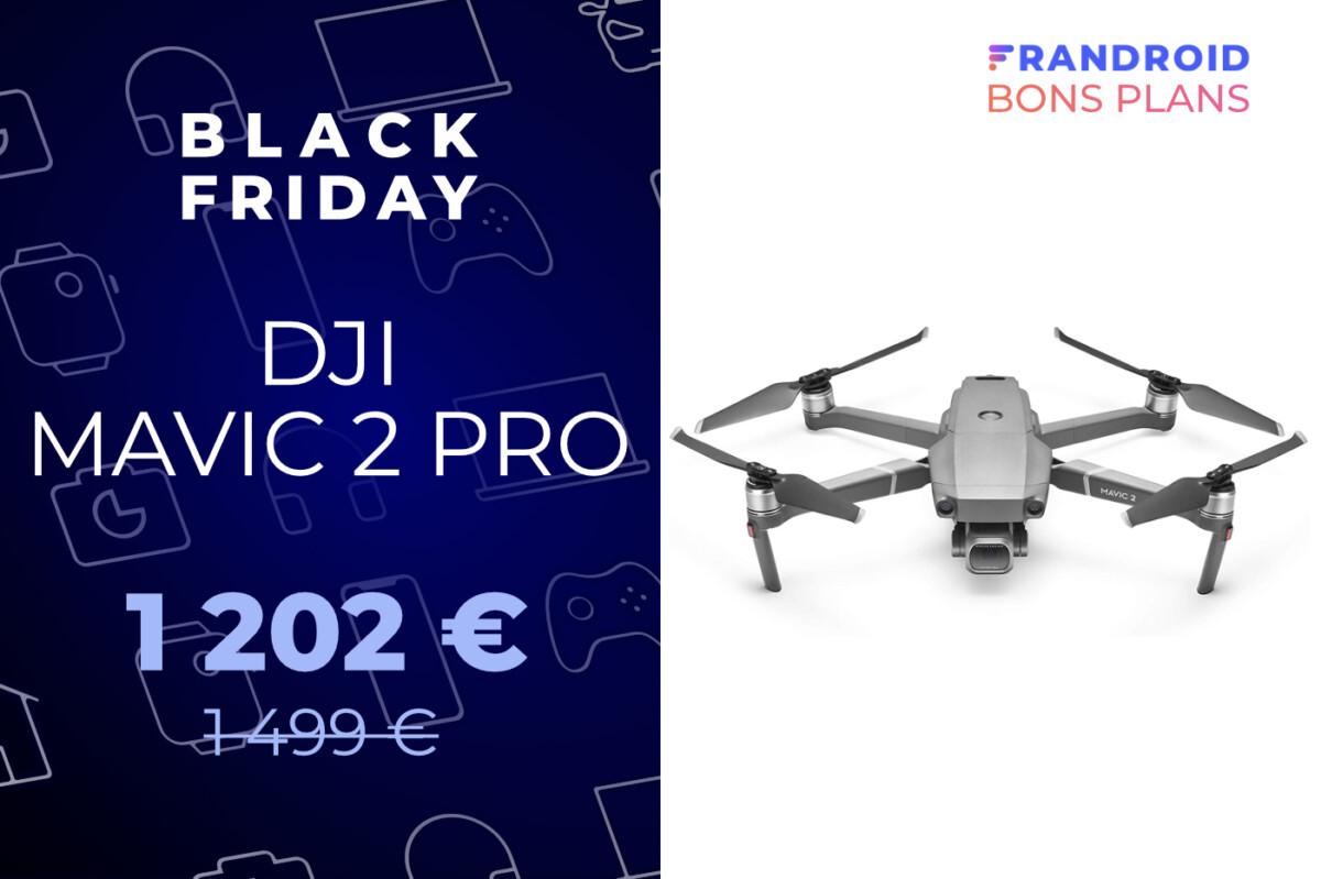 DJI Mavic 2 Pro : un drone encore plus excellent avec -300 € pour le Black Friday