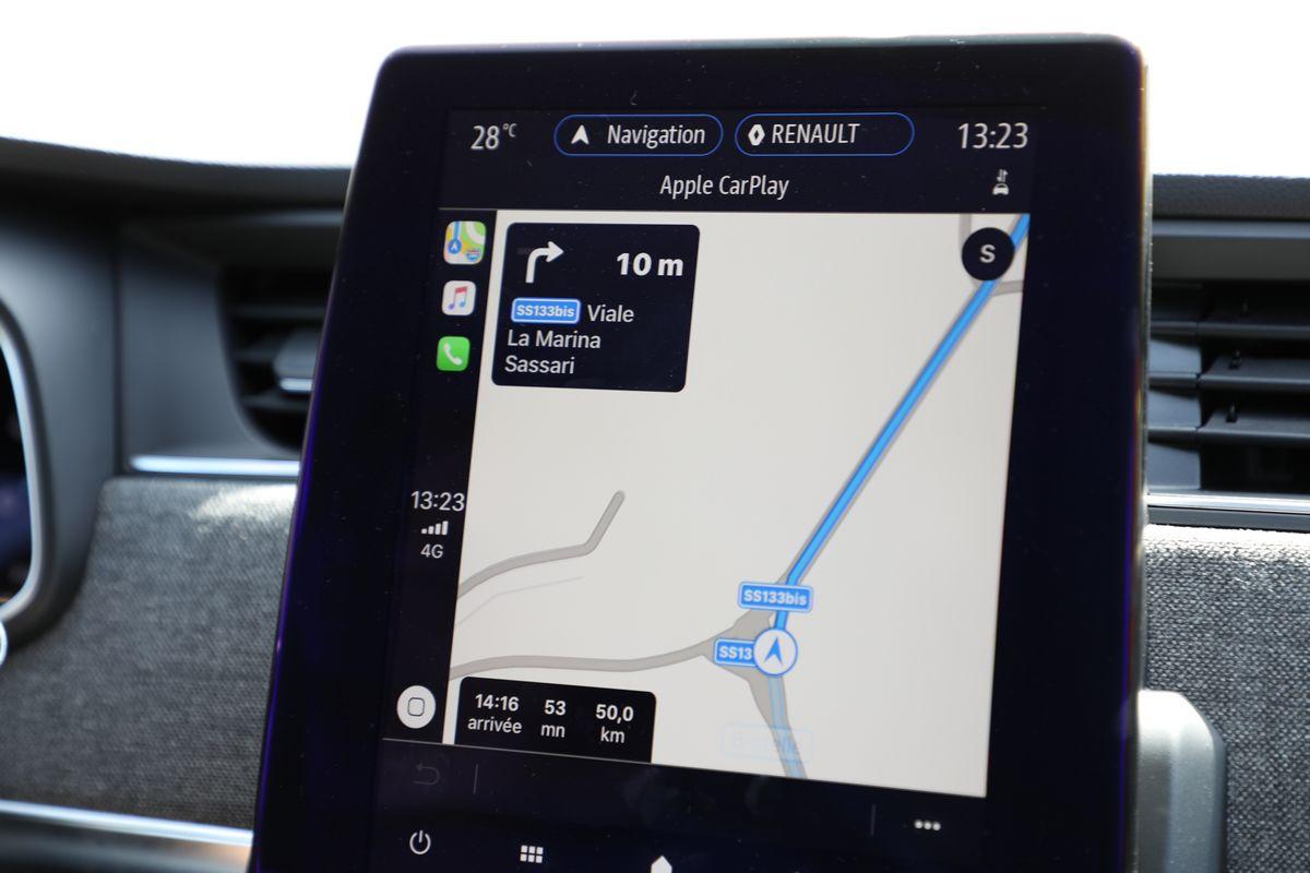 L'écran tactile de la Renault Zoé