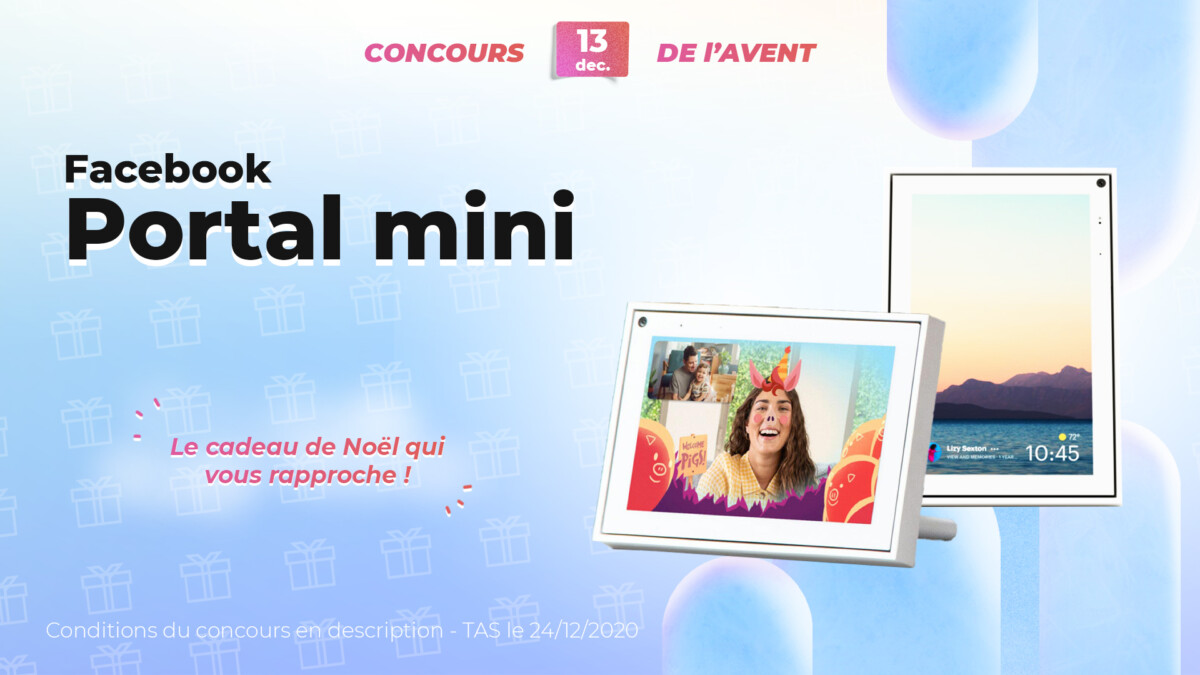 Facebook Portal mini Frandroid contest