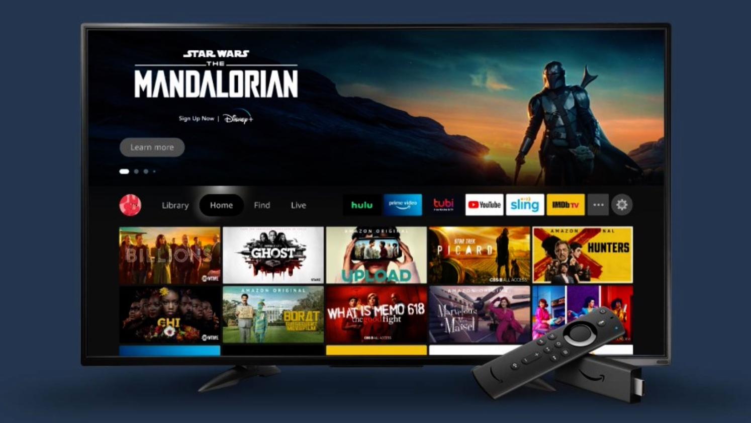 La nouvelle interface des Fire TV d'Amazon est en route, il ne nous reste plus qu'à attendre la mise à jour
