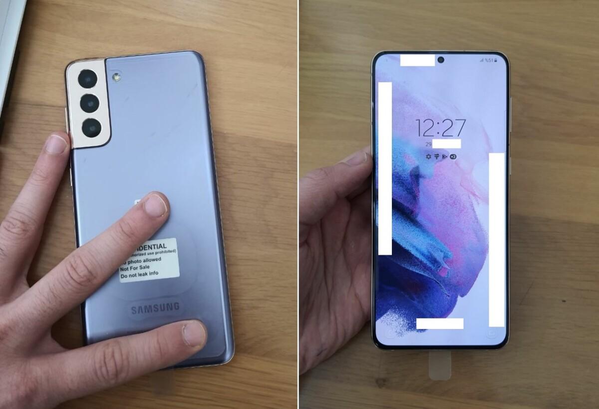 Photos de prise en main du Samsung Galaxy S21 Plus