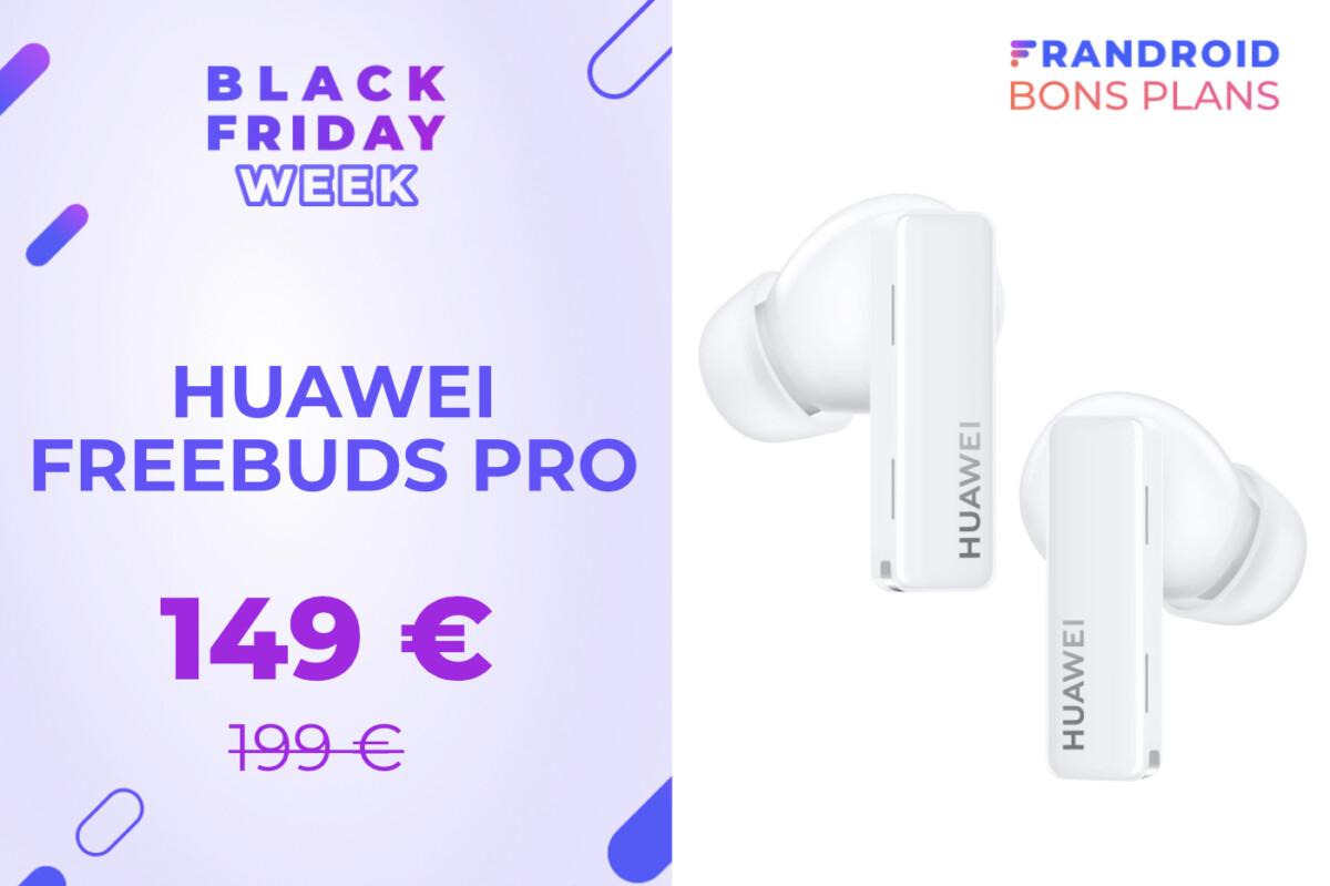 Les AirPods Pro de Huawei passent sous les 150 € pour le Black Friday