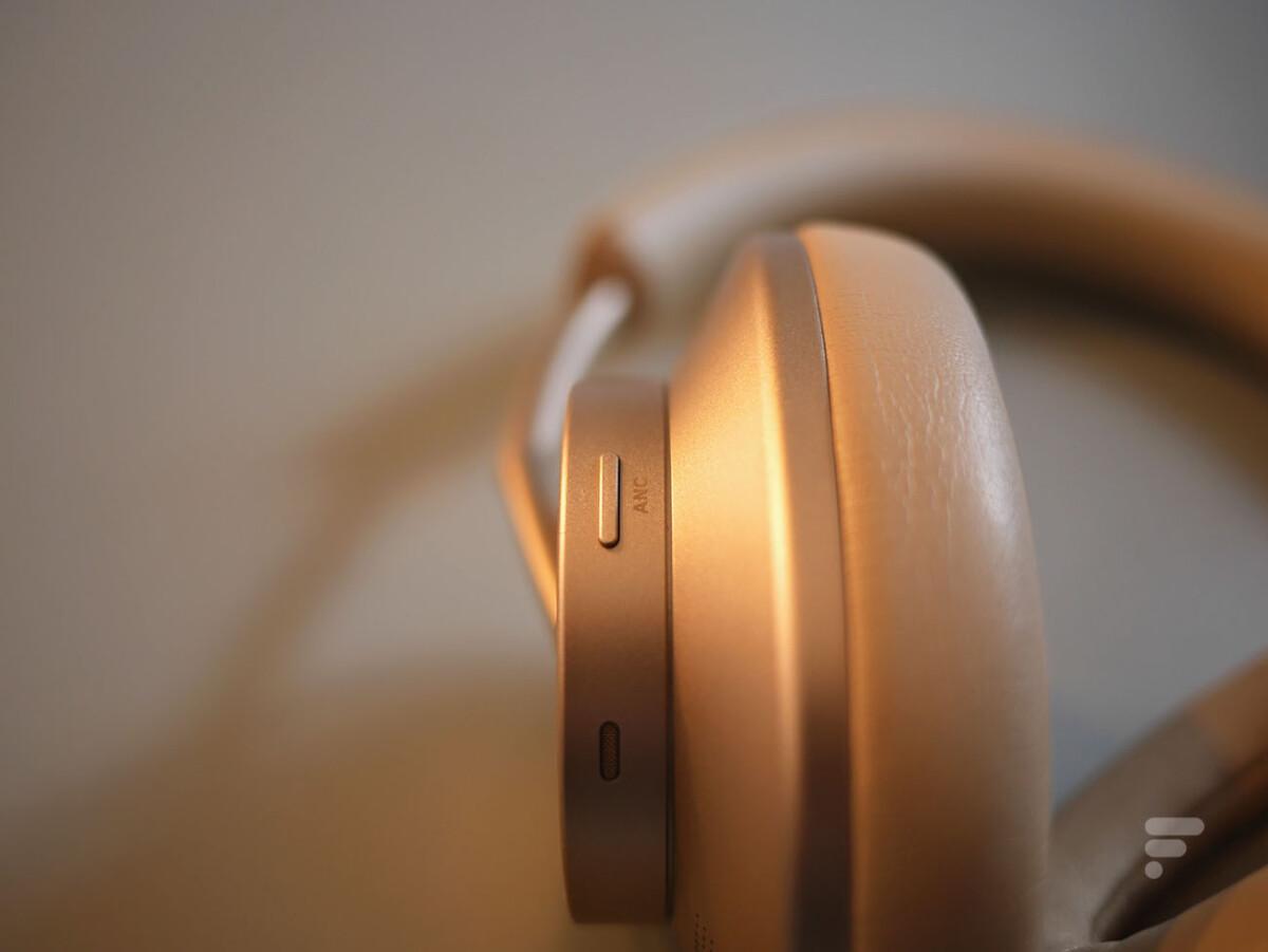 Le bouton pour gérer la réduction de bruit du Huawei FreeBuds Studio