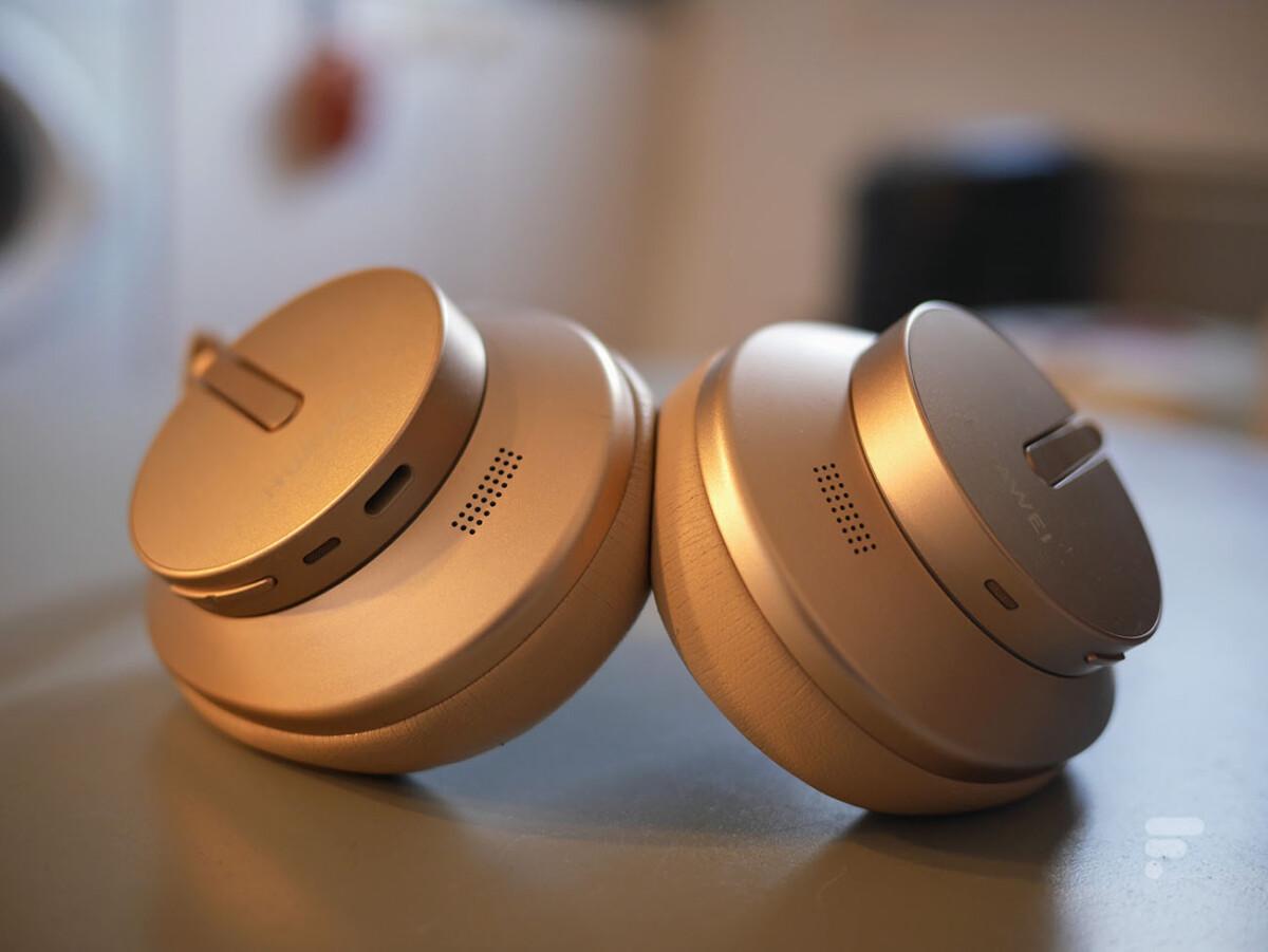 Le Huawei FreeBuds Studio ne propose pas de connexion filaire