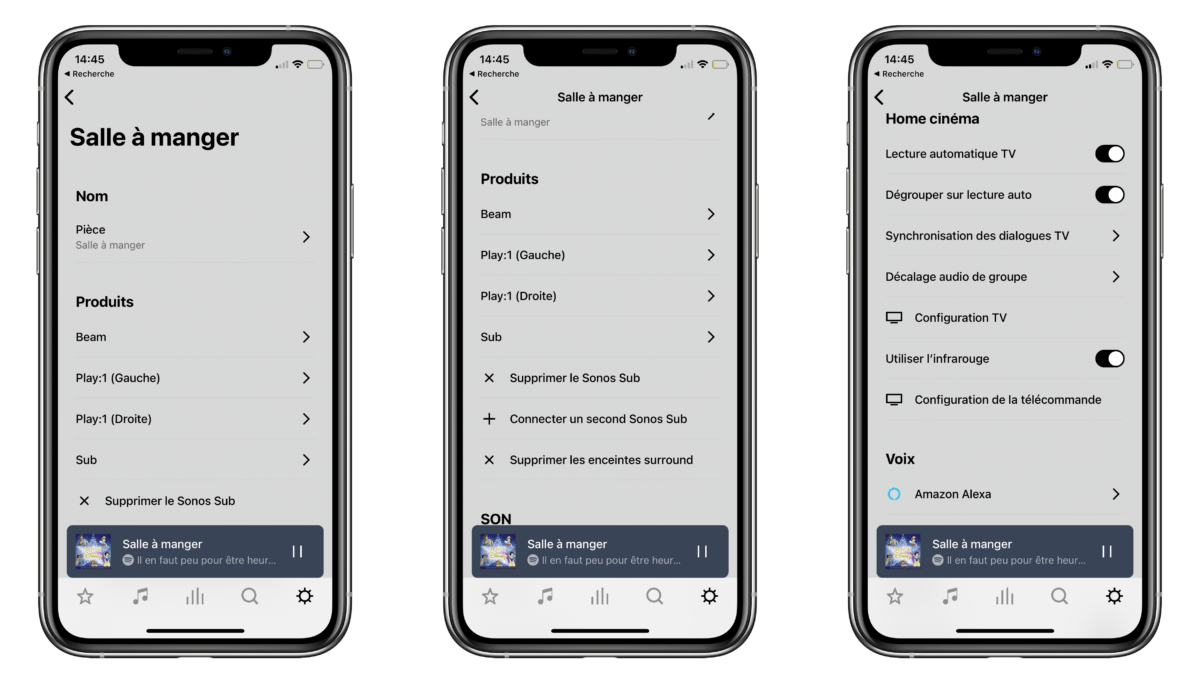 The app offers many options and functions