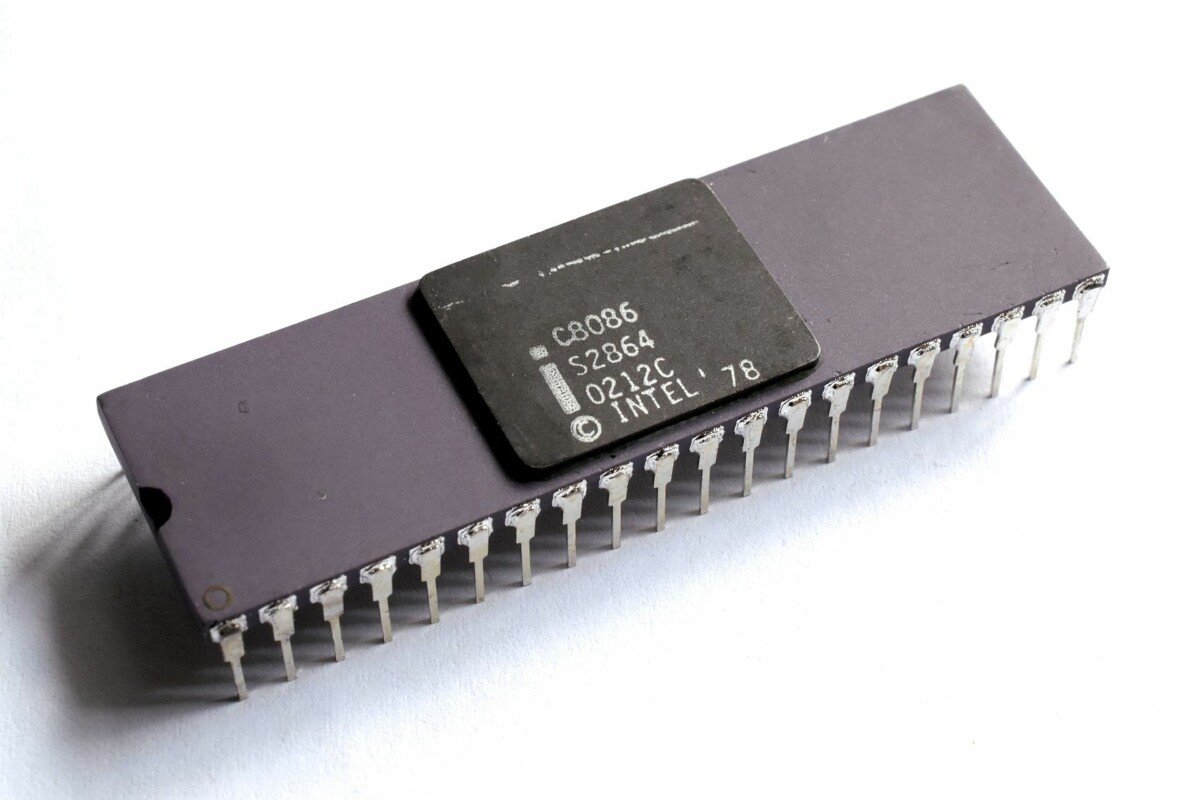 Intel's 8086 which would launch the x86 architecture