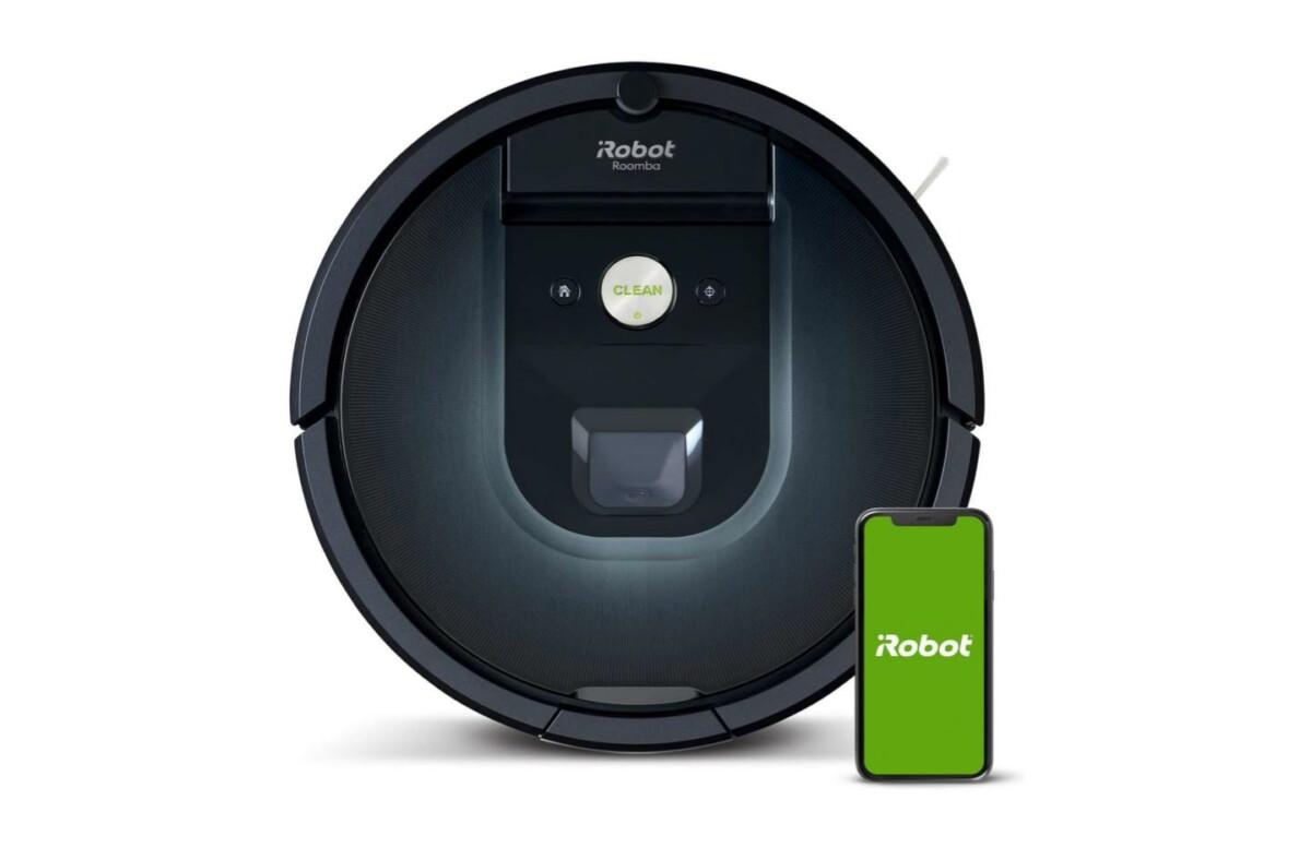 Le robot aspirateur haut de gamme iRobot Roomba 981 est à moins de 400euros