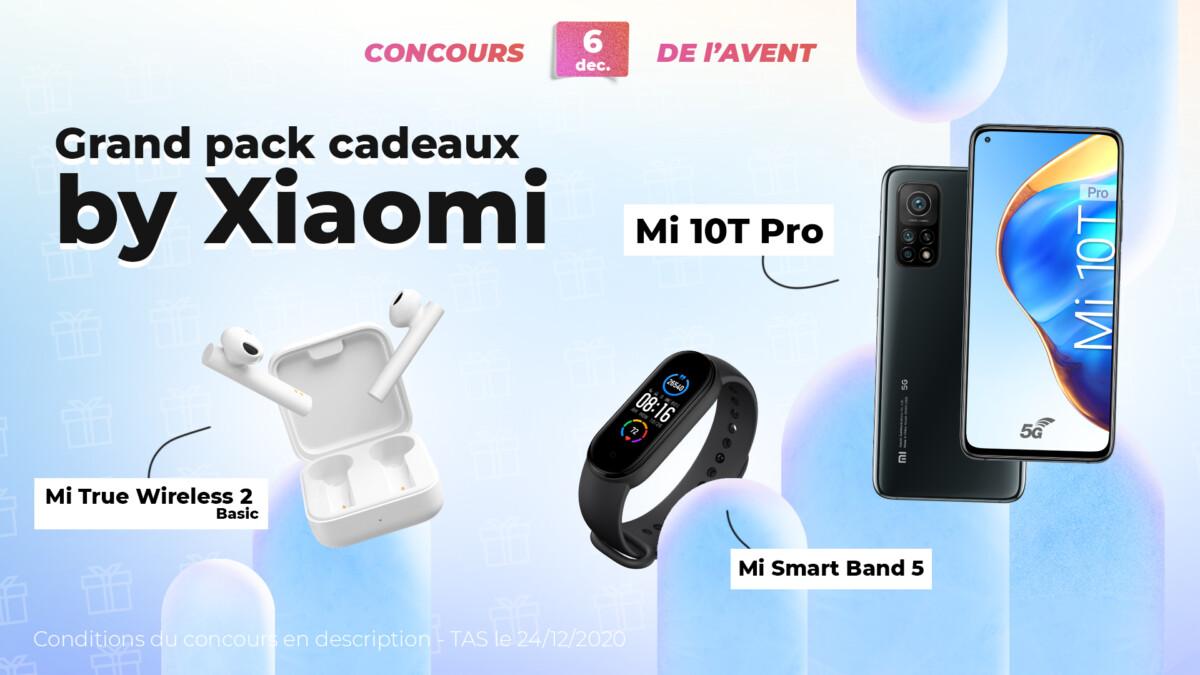 Lot Xiaomi Jour 6 calendrier de l'Avent