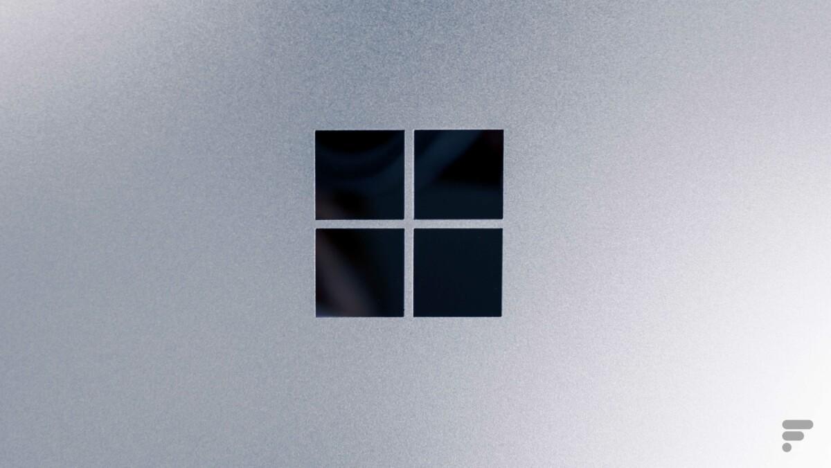 Le logo de Microsoft est plutôt sobre