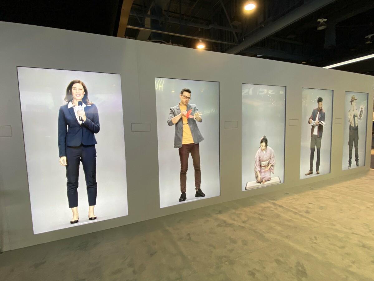 NEON, un être virtuel créé par Star Labs, une startup de Samsung