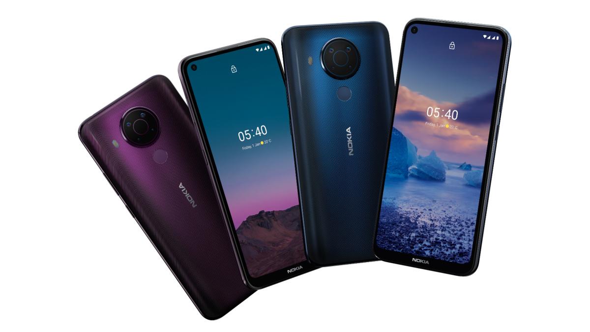 Les nouveaux Nokia5.4