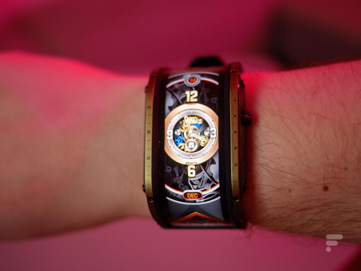 La Nubia Watch ne propose aucun mode always on