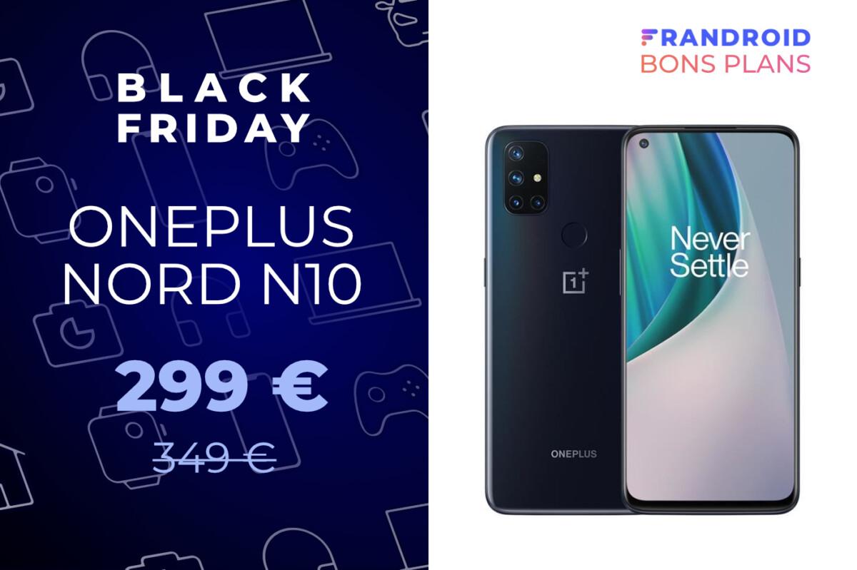 Le OnePlus Nord N10 5G baisse déjà son prix à l'occasion du Black Friday
