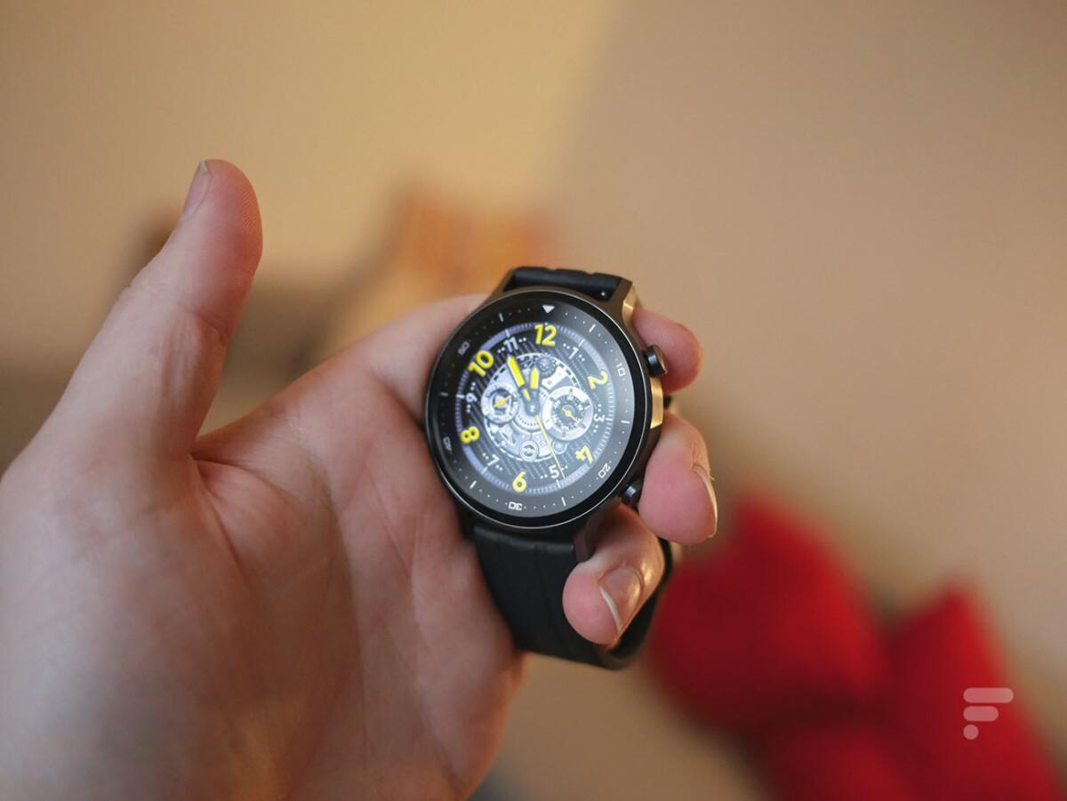 L'écran de la Realme Watch S