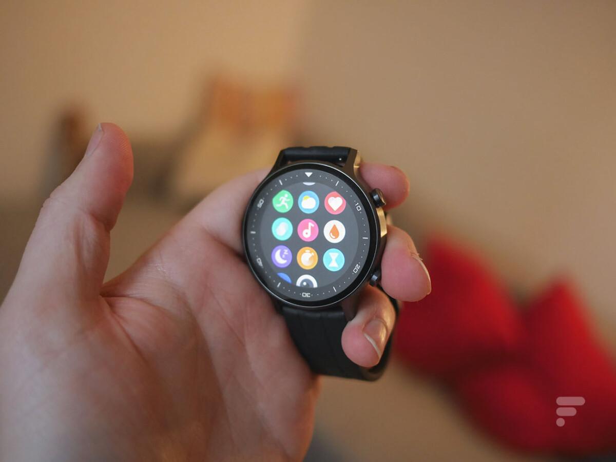 Les applications de la Realme Watch S