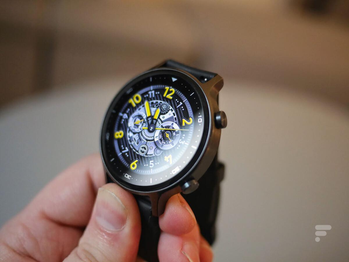 La couronne de la Realme Watch S