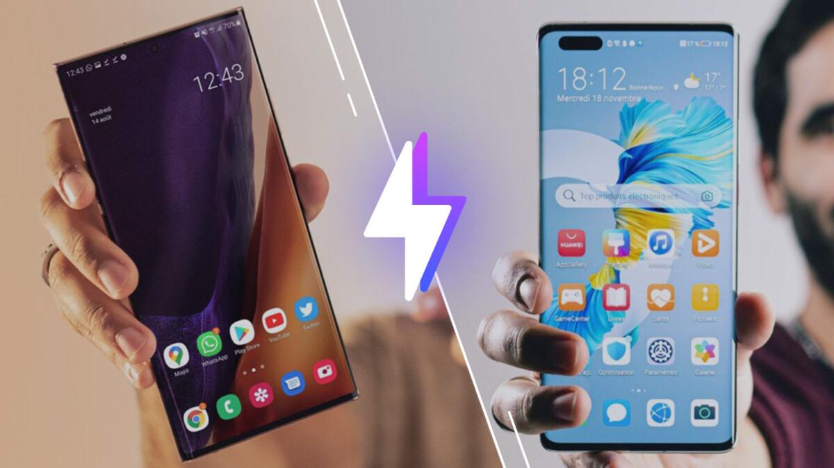 Samsung Galaxy Note 20 Ultra vs Huawei Mate 40 Pro