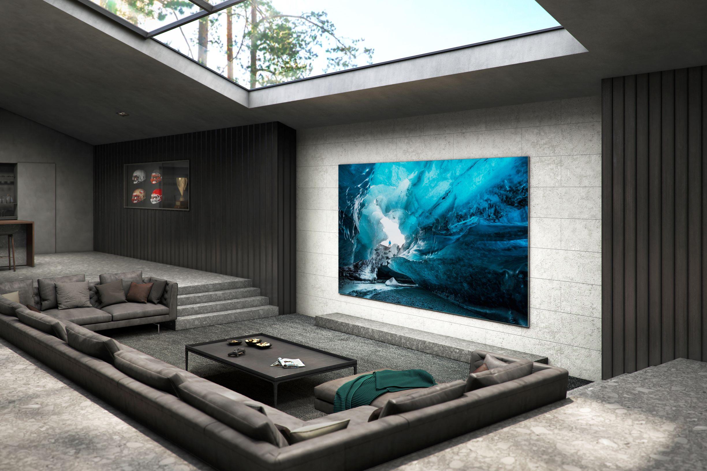 L'écran TV Samsung MicroLED de 110 pouces