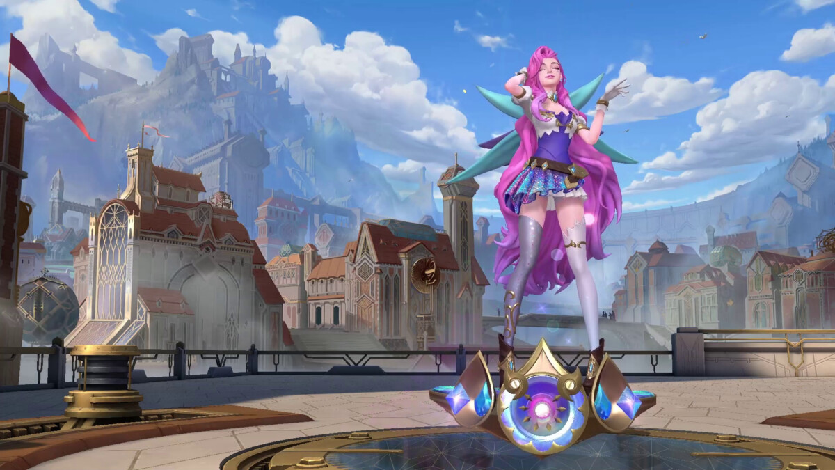 Seraphine, one of the characters in League of Legends: Wild Rift