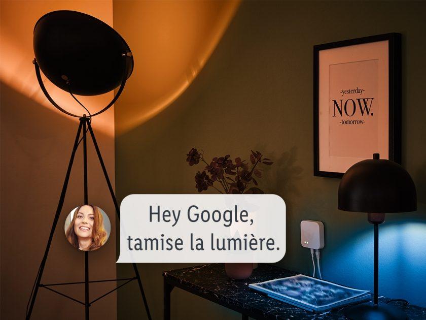 La gamme Lidl Smart Home peut être piloté vocalement avec Google Assistant