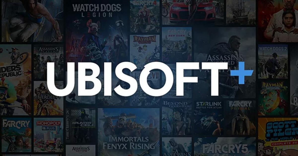 Logo Ubisoft+
