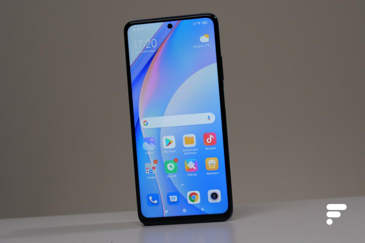 Xiaomi Mi 10T Lite face avant