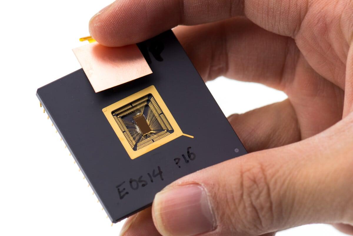 RISC-V chip prototype