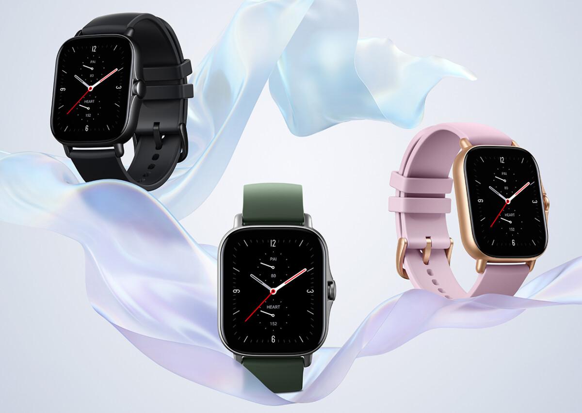 La montre Amazfit GTS 2e