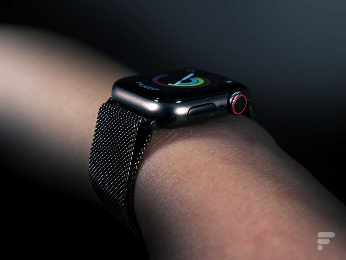 La Digital Crown de l'Apple Watch SE