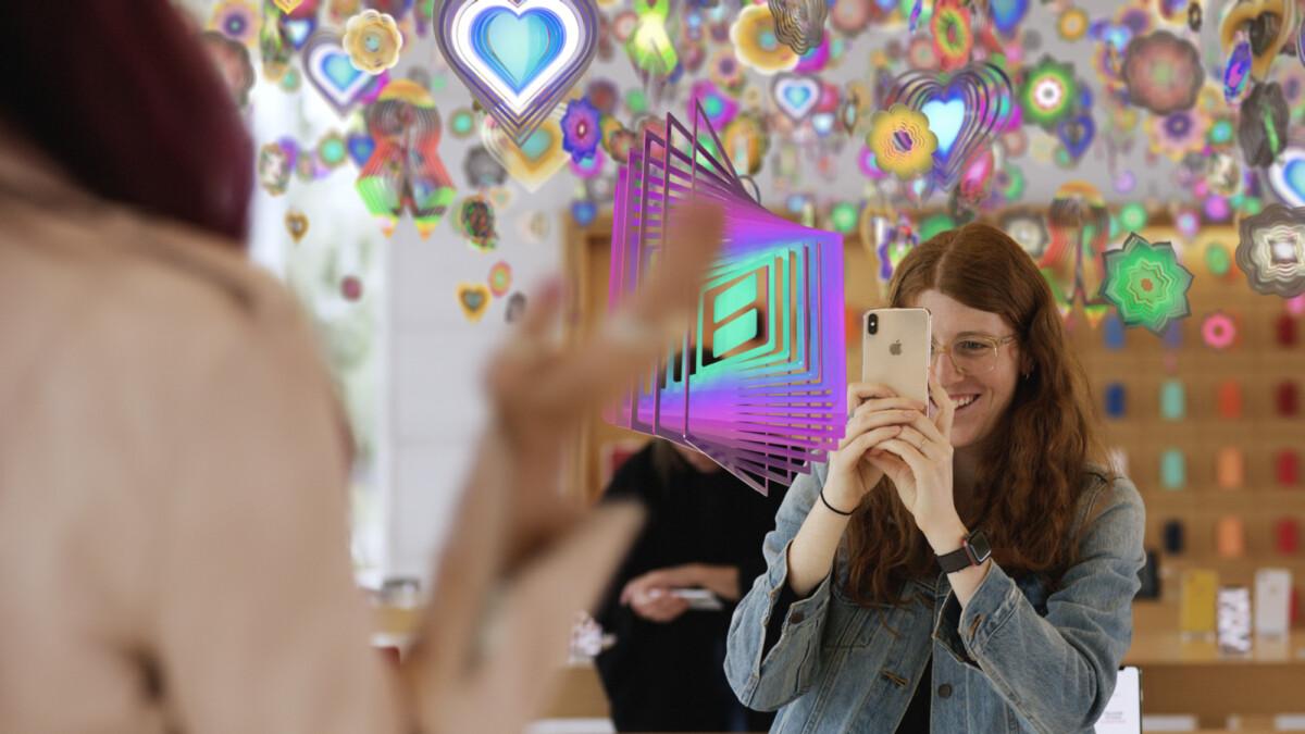 L'iPhone, support de réalité augmentée pour Apple