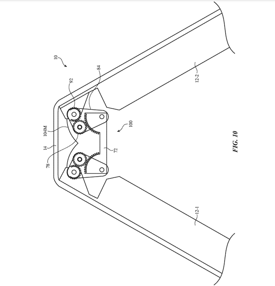 New patent application for foldable iPhone hinge appears in December 2020