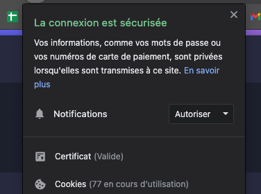 There it is, we can send you web notifications!