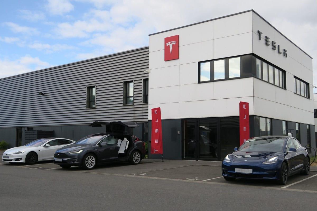 Le centre Tesla de Lille ouvert en 2020