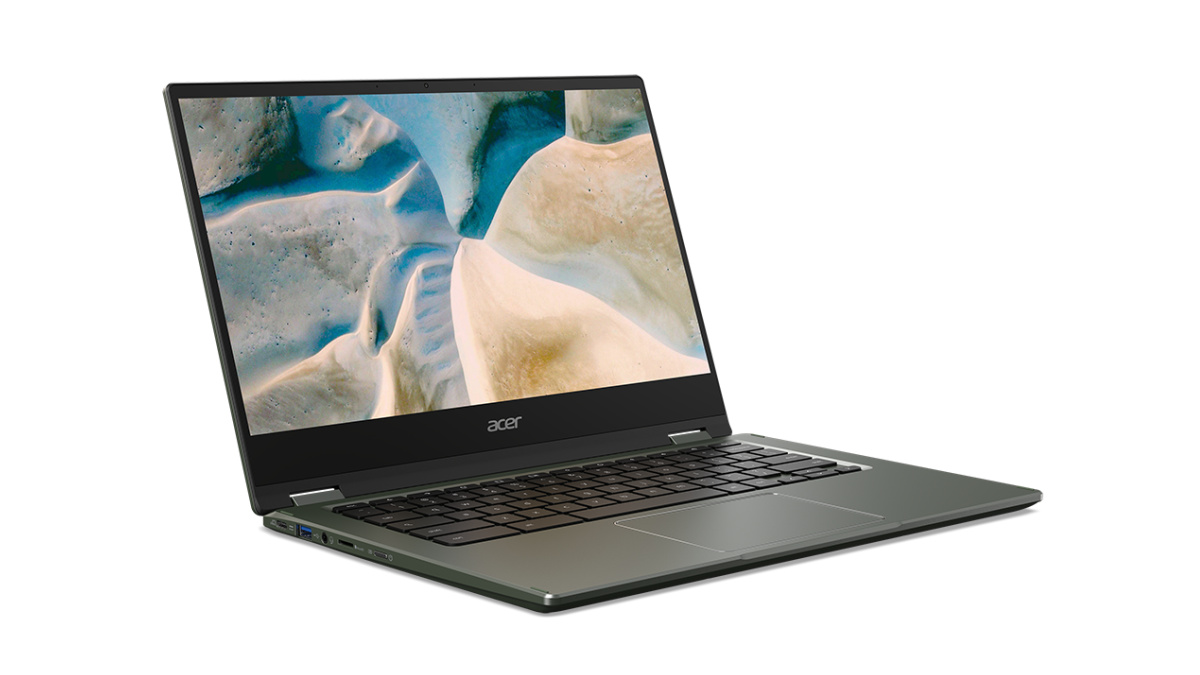 The Chromebook Spin 514 embeds AMD for the processor and graphics card