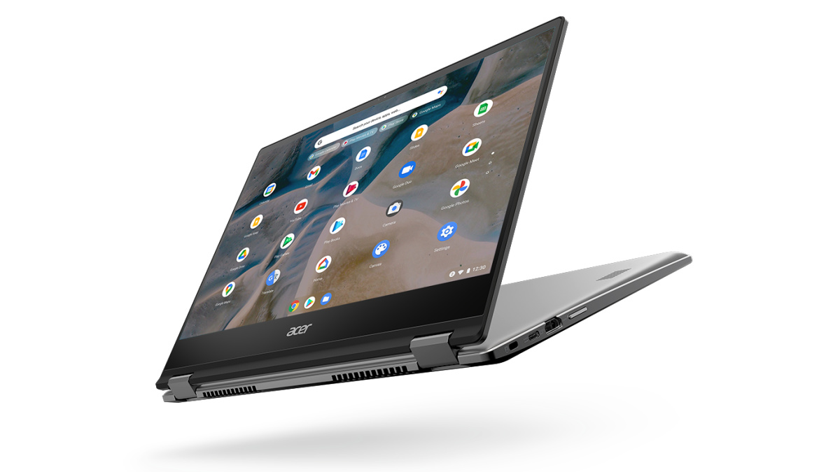 The Acer Chromebook Spin 514 has a 360-degree hinge