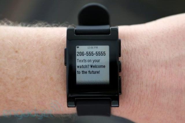 La Pebble Watch de 2012