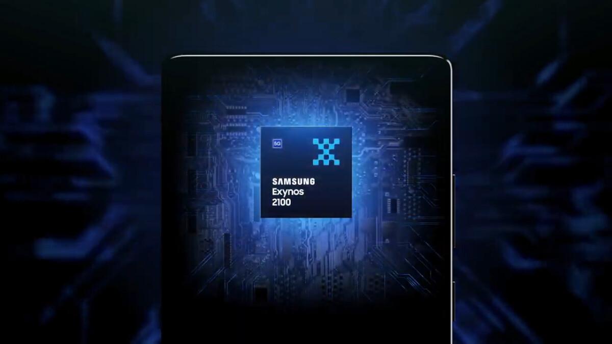 La nouvelle puce Exynos 2100 du Samsung Galaxy S21
