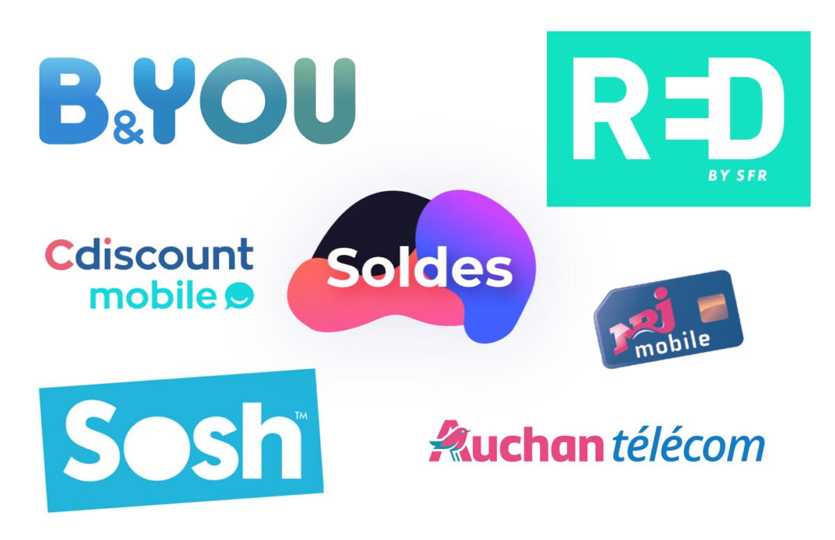 RED, Sosh, B&You… c'est le moment de changer son forfait mobile pendant les soldes