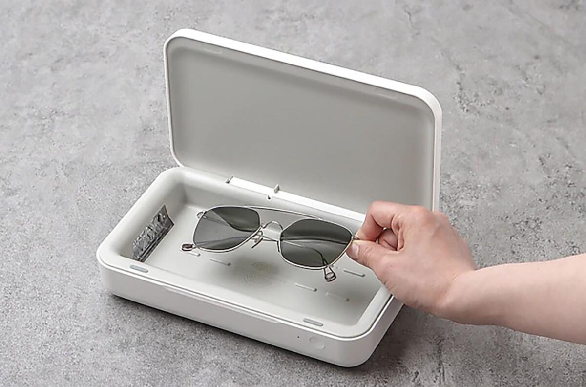 Le boîtier de stérilisation UV de Samsung