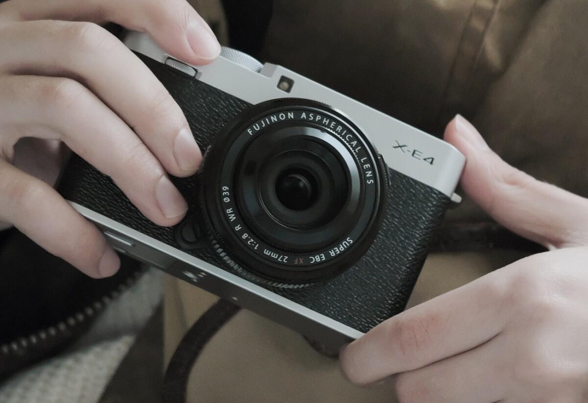 Le Fujifilm X-E4