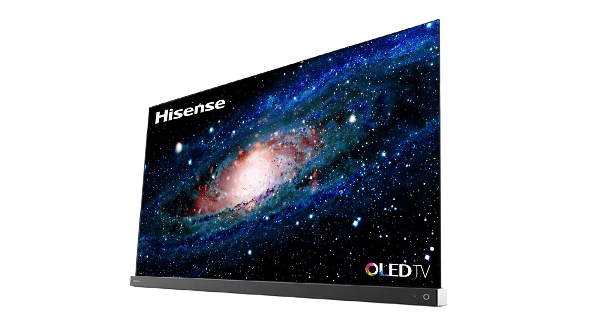 The Hisense A9G OLED series is composed of a 55 and a 65 inch