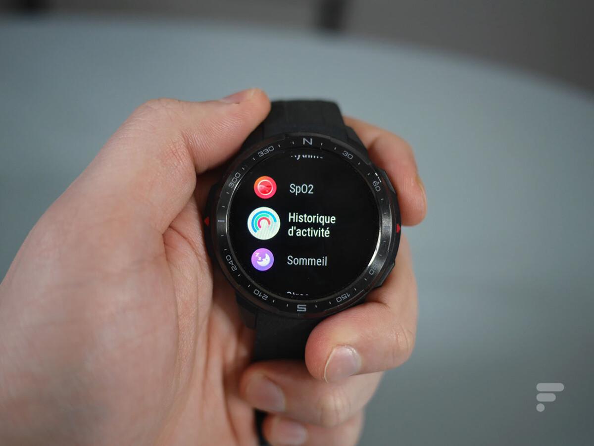 Les applications de la montre Honor Watch GS Pro