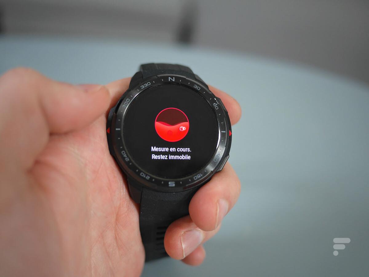La montre Honor Watch GS Pro peut mesurer votre SpO2